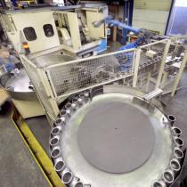Roboterzelle zur Beschickung einer Drehmaschine